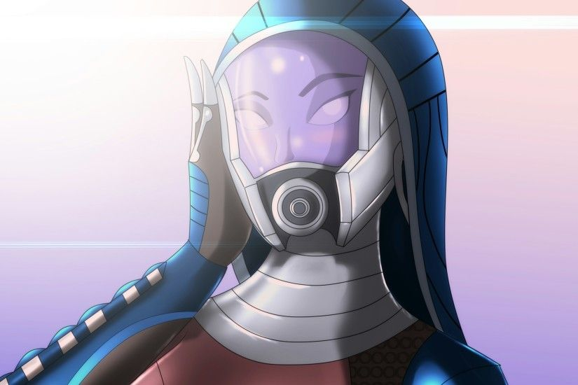 Wallpapers Mass Effect Tali Zorah Helmet Fantasy