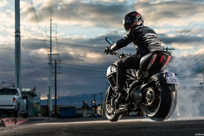 Ducati Diavel motorcycle wallpapers 4K Ultra HD