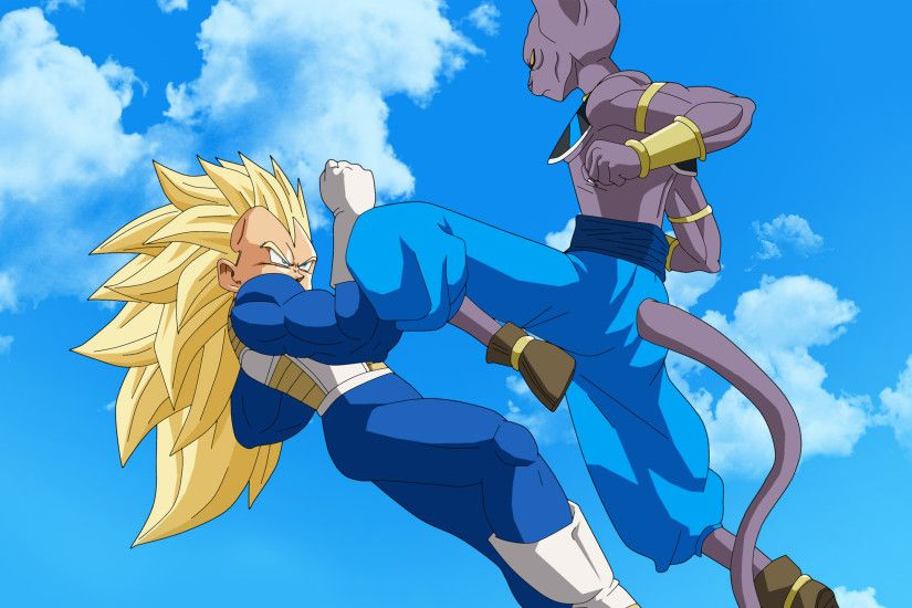 Bills and Vegeta - Dragon Ball Z Battle of Gods wallpaper