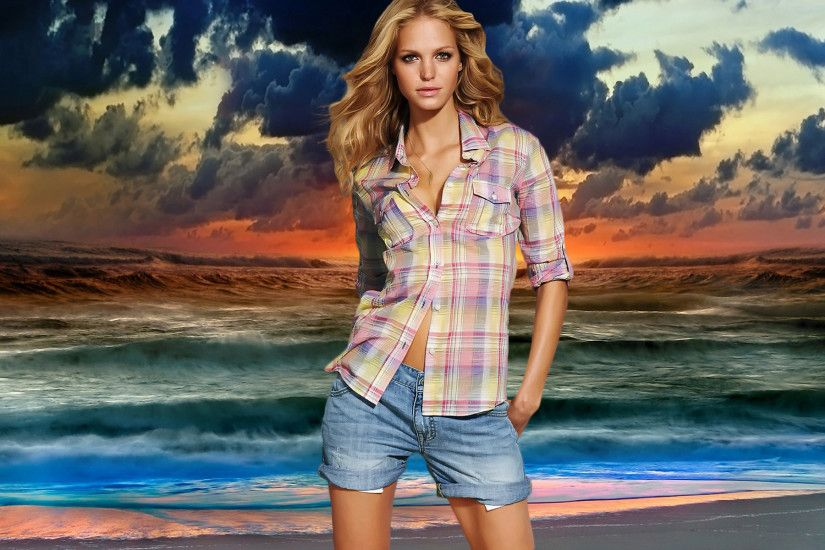 ... Erin Heatherton Widescreen Wallpaper