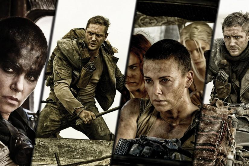 Max Rockatansky and Imperator Furiosa - Mad Max: Fury Road [2] wallpaper  1920x1080