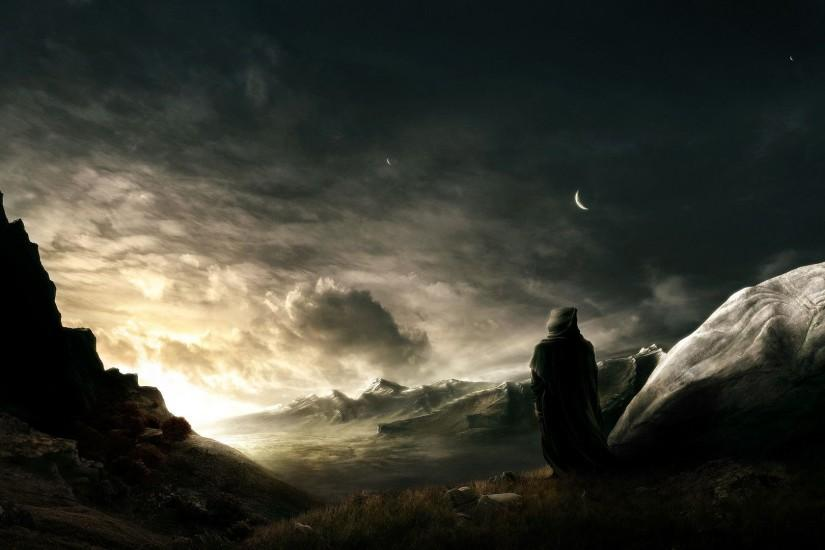 Dark Fantasy Landscape Wallpapers Android