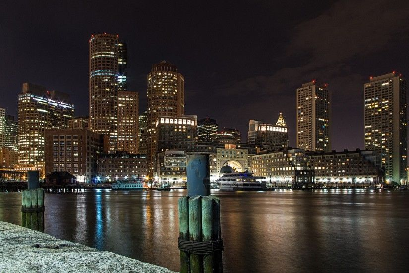 Boston Skyline Photos HD.