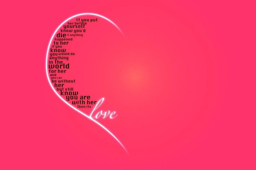 Love Quotes Desktop Wallpapers
