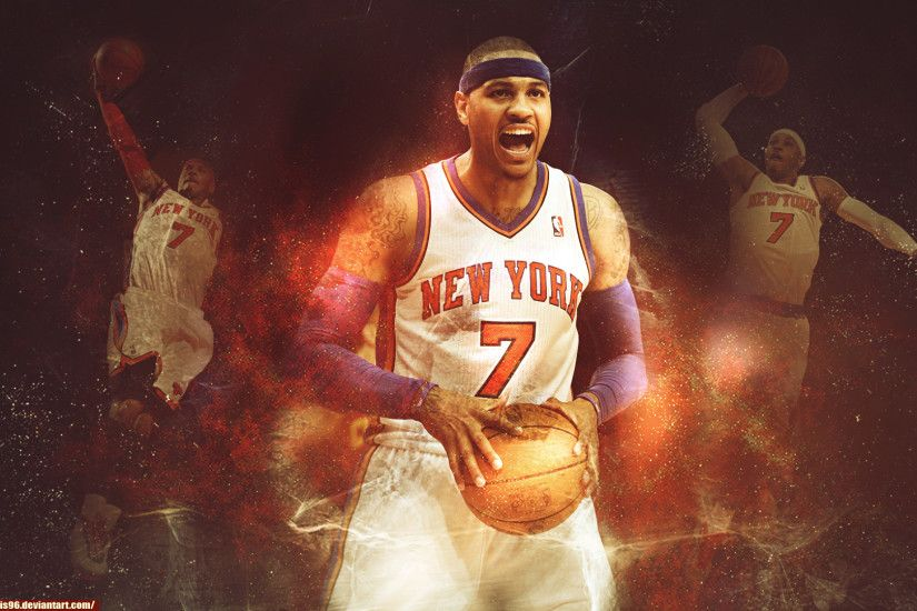 ... Carmelo Anthony - New York Knicks by ricis96