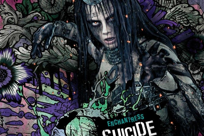 Enchantress In Suicide Squad · Enchantress In Suicide Squad Wallpaper