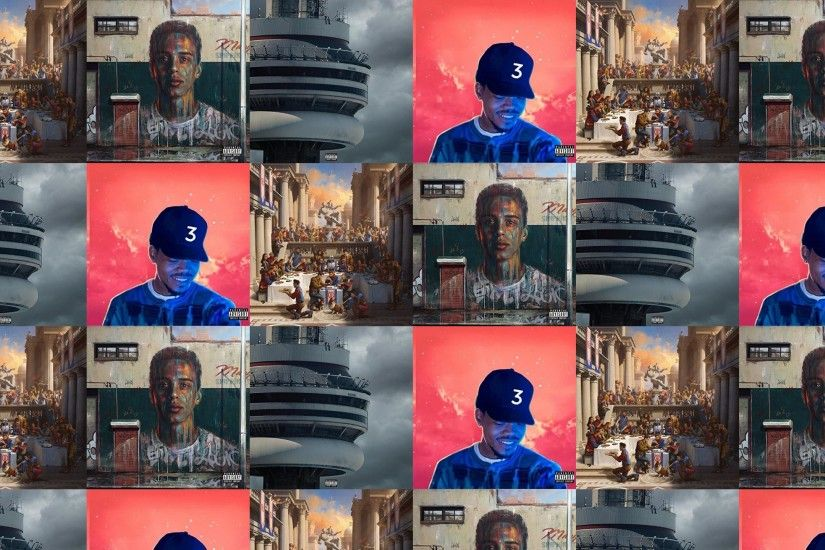Logic Under Pressure Drake Views Chance Rapper Wallpaper