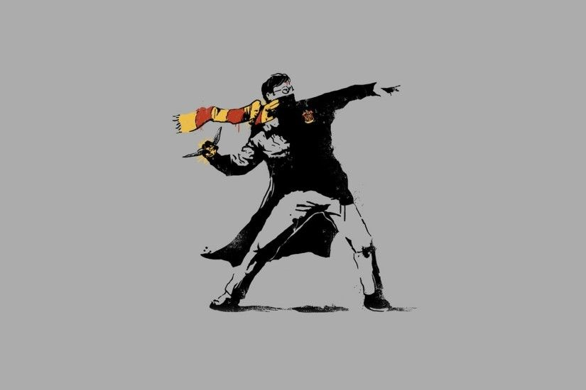 Banksy Art Bakcground Free Download.