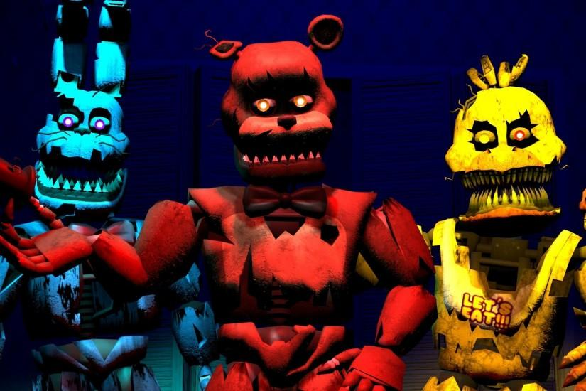 beautiful five nights at freddys wallpaper 1920x1080 ipad