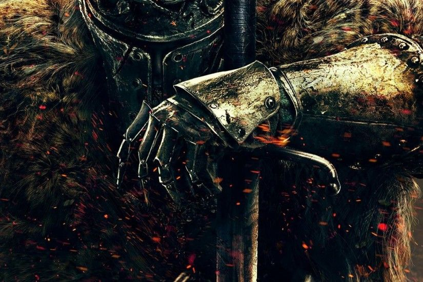 2048x2048 Wallpaper dark souls ii, dark souls, warrior, knight, from  software,