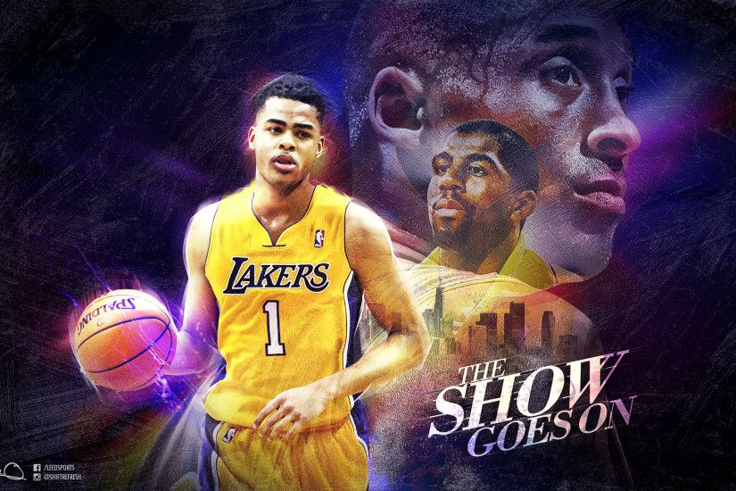 D'Angelo Russell LA Lakers 2015 Wallpaper