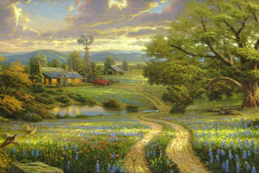 Thomas Kinkade Paintings 752378 ...