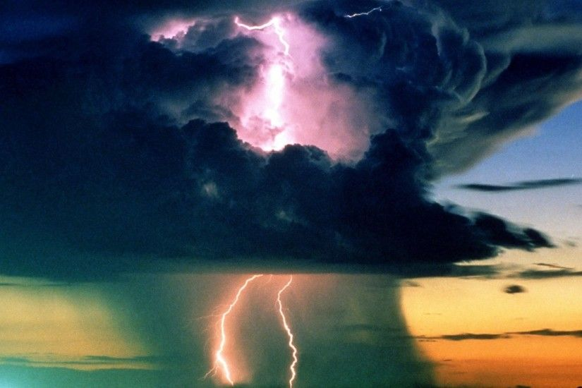 Natural Force - Lightning Force Nature Best Wallpapers for HD 16:9 High  Definition 1080p