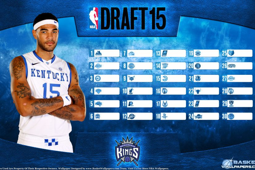 Willie Cauley-Stein Kings 2015 NBA Draft Wallpaper