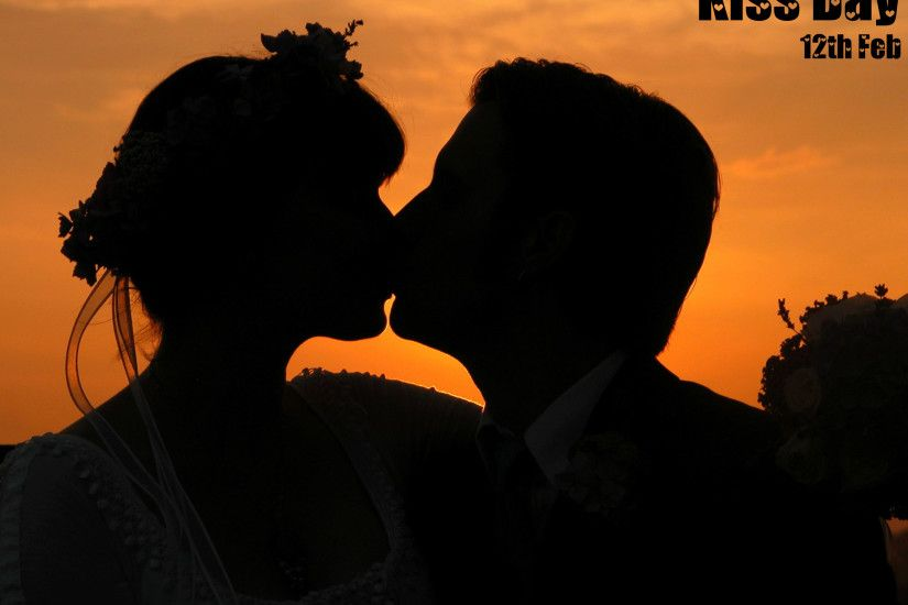 3d Abstract Romantic Kiss Wallpapers