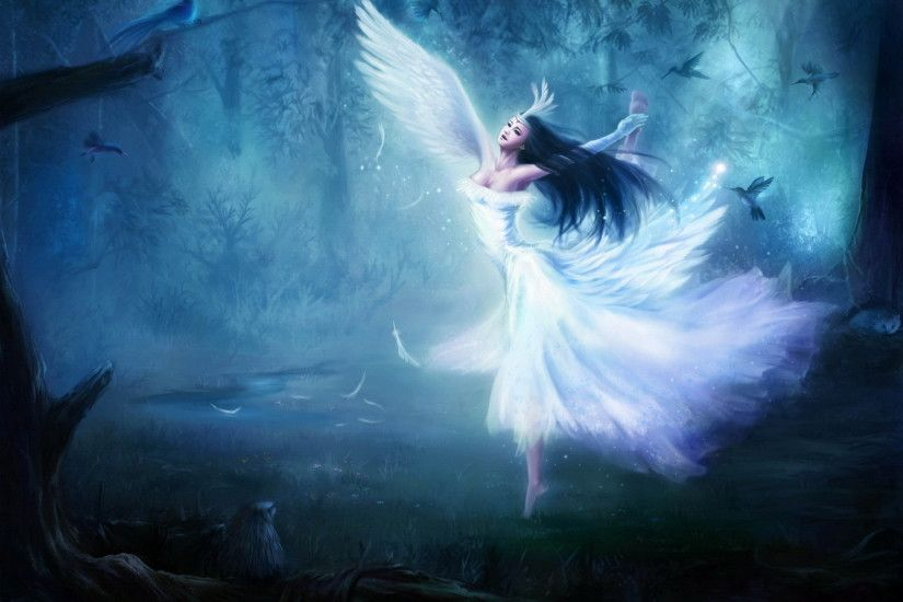 Download Free fantasy Wallpapers | angel Wallpaper Backgrounds |  WallpaperBackgrounds.com
