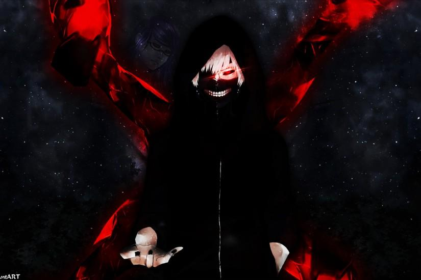 wallpaper kaneki ken tokyo ghoul by z4riel fan art wallpaper movies tv .