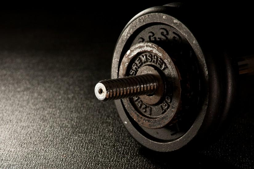 Preview wallpaper dumbbells, fitness, gym 3840x2160