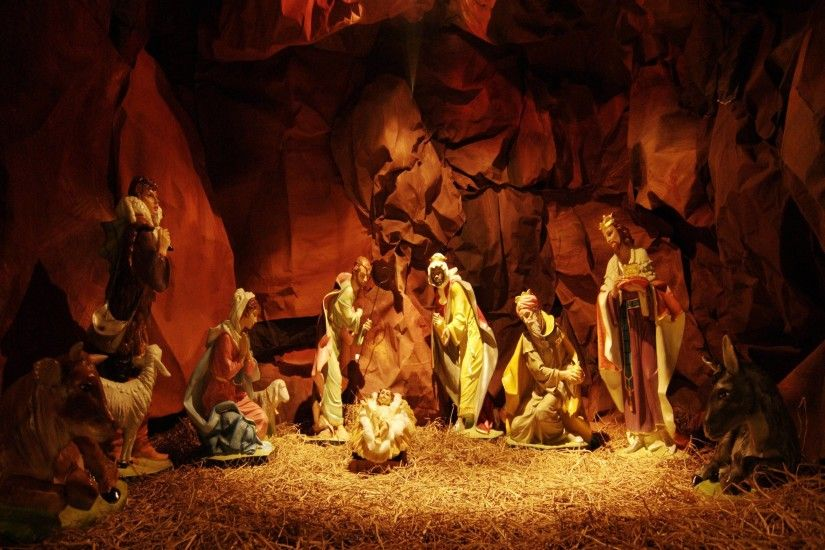 download nativity scene wallpaper - www.