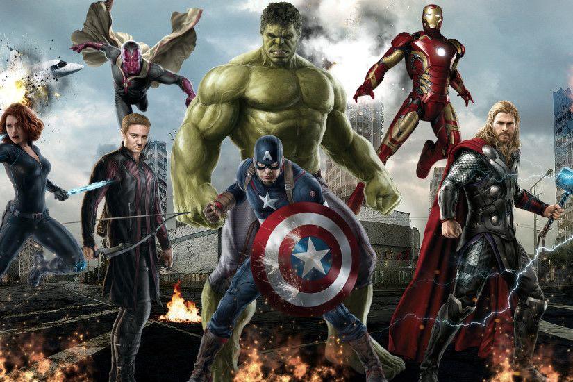 Avengers Age Of Ultron Wallpaper Wide As Wallpaper HD