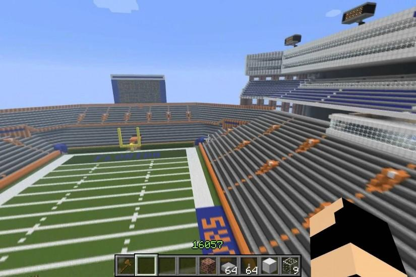 Minecraft: Florida Gators Stadium The Swamp w/ DV8erLoki Ep. 1 - YouTube