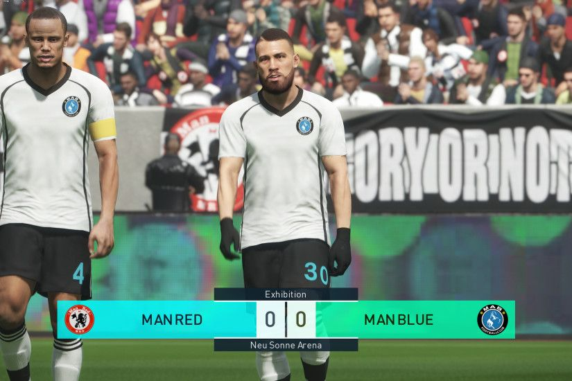 Pro Evolution Soccer 2018 - Manchester United vs Manchester City - PC Max  Settings
