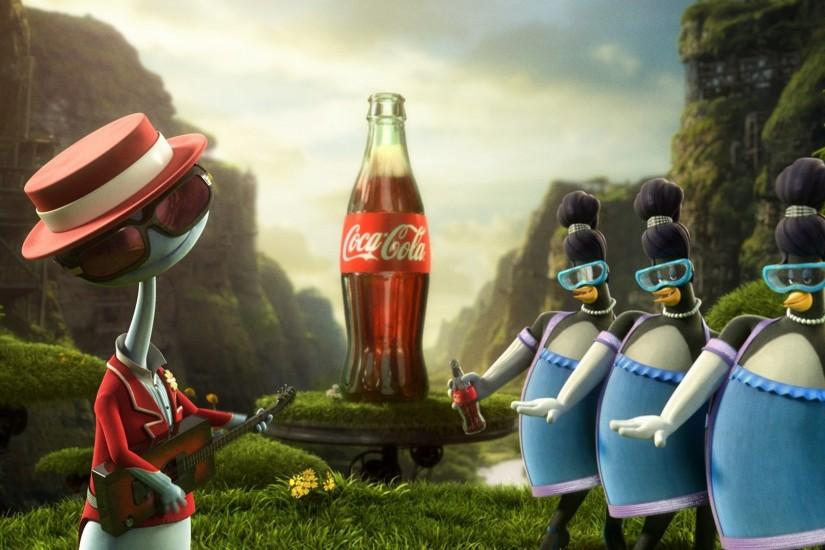 Preview wallpaper coca-cola, images, drink, firm 1920x1080