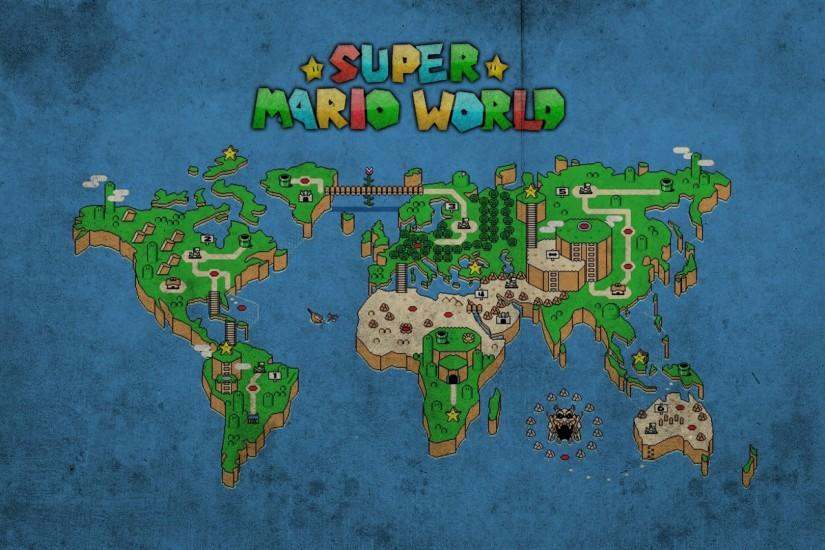 ... Super Mario World Wallpaper (5) ...