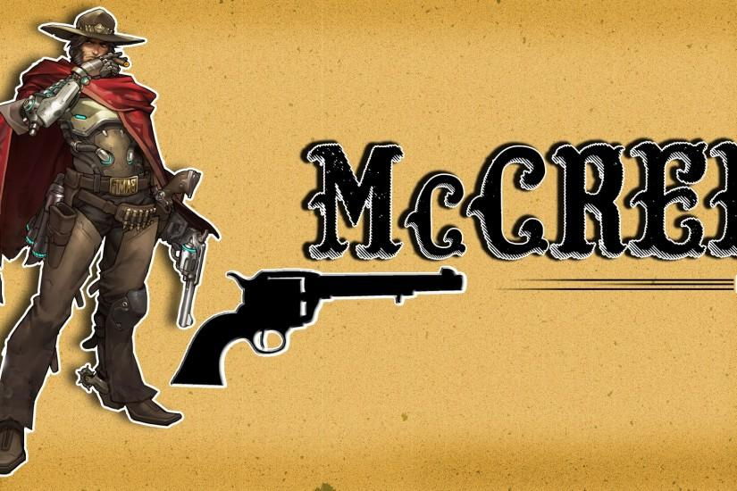 mccree wallpaper 1920x1080 hd