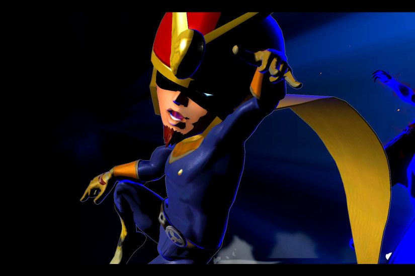 ... Captain Falcon ...