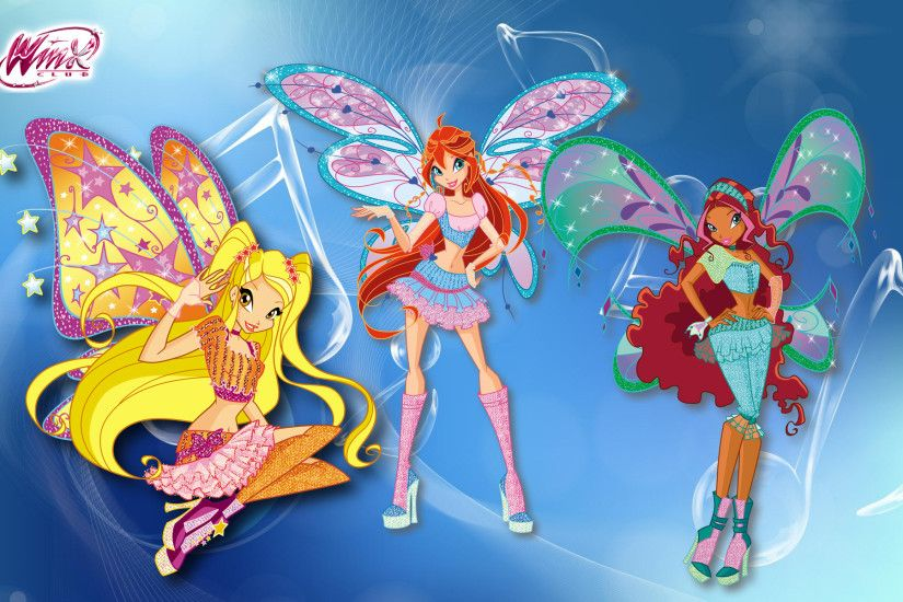 Winx Club Wide Wallpapers