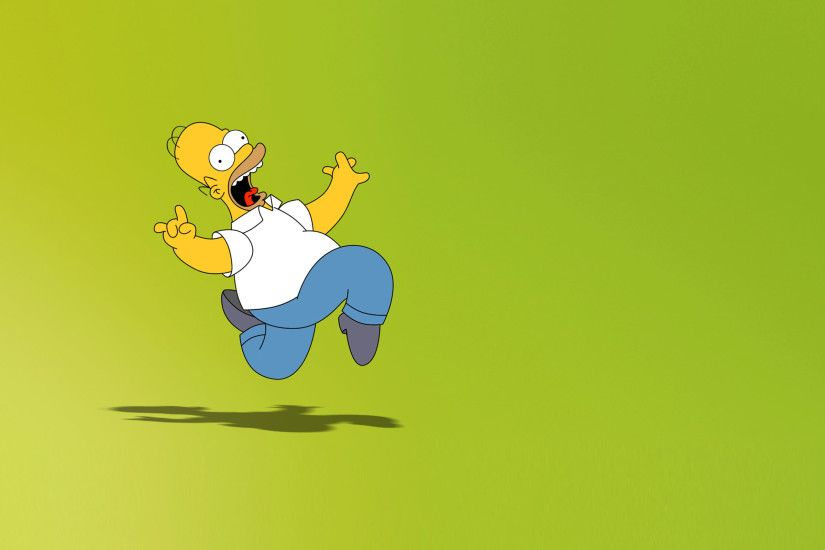 TV Show - The Simpsons Homer Simpson Wallpaper