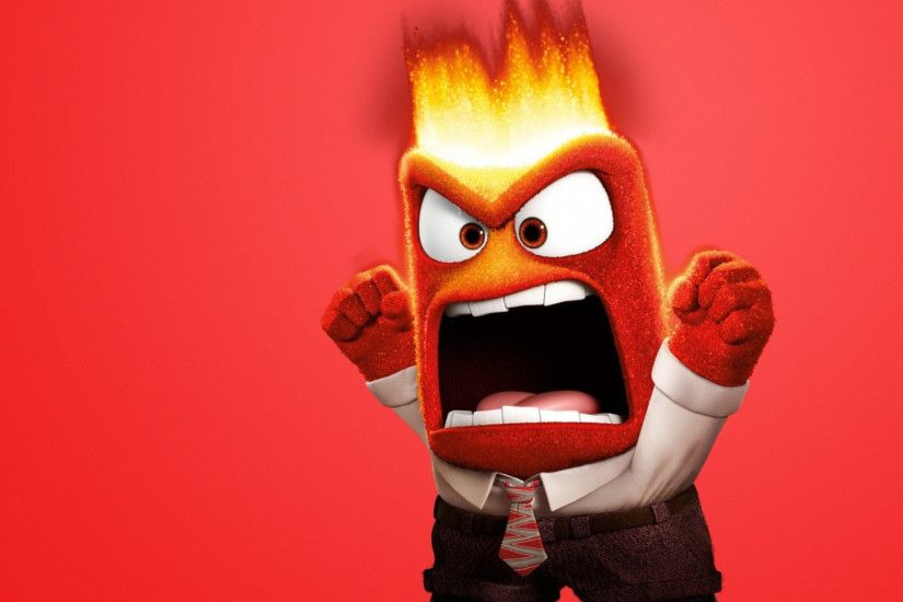 Preview wallpaper inside out, 2015, anger, emotion 1920x1080