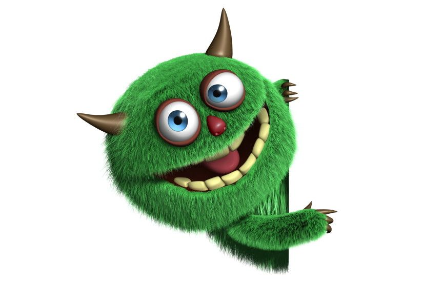 3d Monster Cute Funny Furry