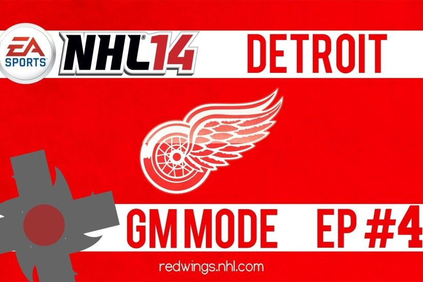 "NHL 14 Gm Mode: Detroit Red Wings Ep.4 ""Huge Trade Deadline"""
