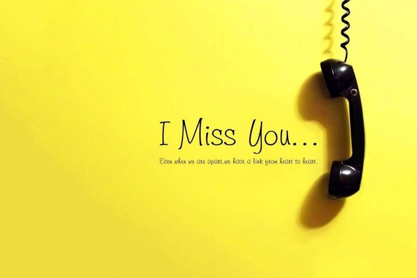 I miss you and wait for call wallpaper | Royal Images