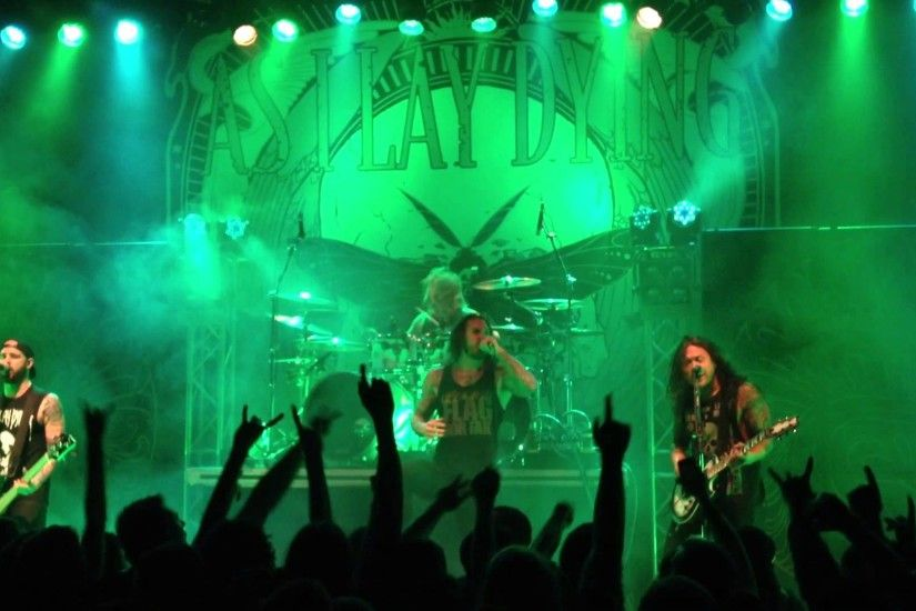 As I Lay Dying (Intro/Cauterize) Live 4/2/2013 Lawrence, Kansas