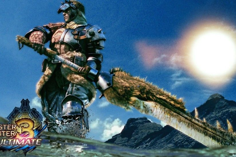 Monster Hunter 3 Ultimate (MH3U) For Beginners | Great Sword Guide - YouTube
