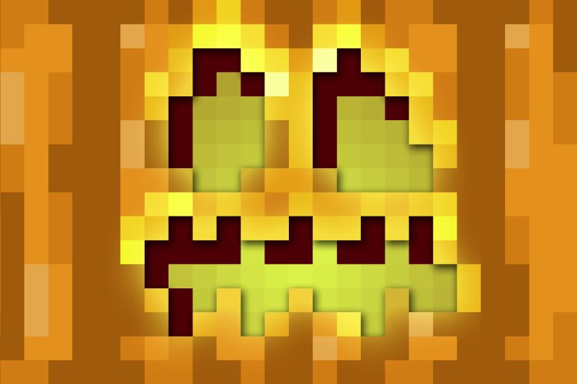 ... Minecraft Jack 'O' Lantern Wallpaper by iWithered
