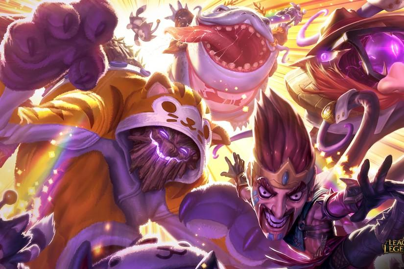Draven Draven, Meowkai Splash Art, Urf Kench & Definitely Not Vel'Koz Splash