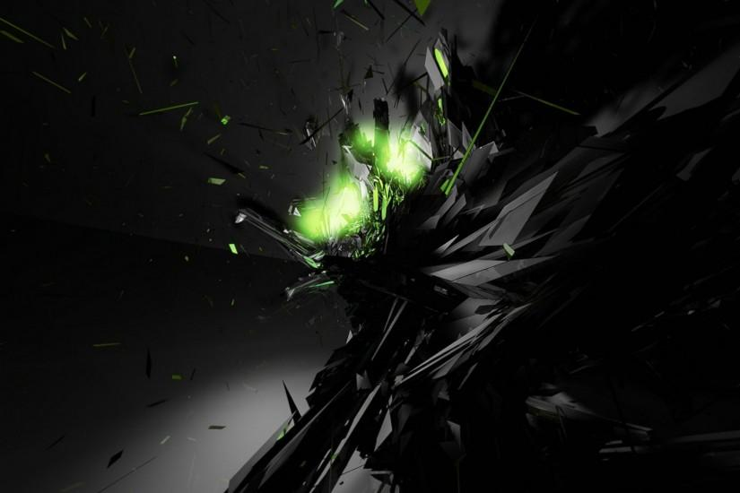 desktop wallpaper green abstract black wallpapers 1920x1080
