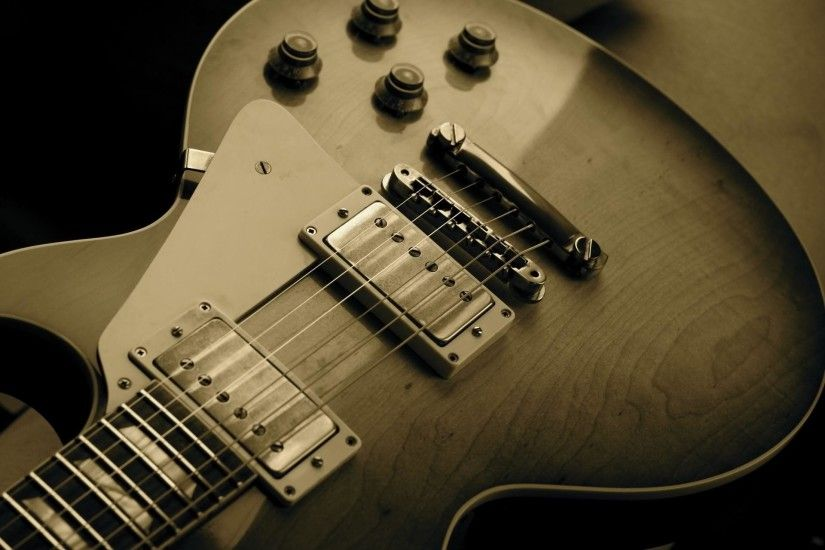 Wallpapers For > Gibson Electric Guitar Wallpaper