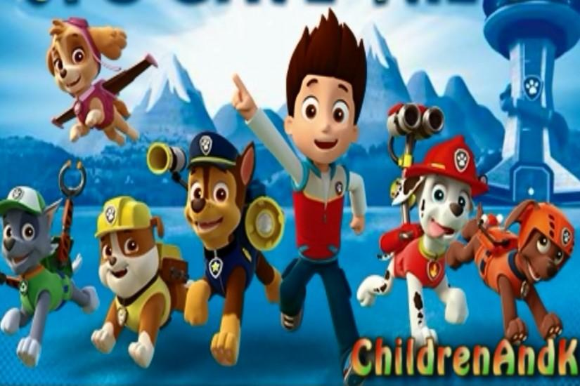 Paw Patrol Backgrounds, TOR63 Collection