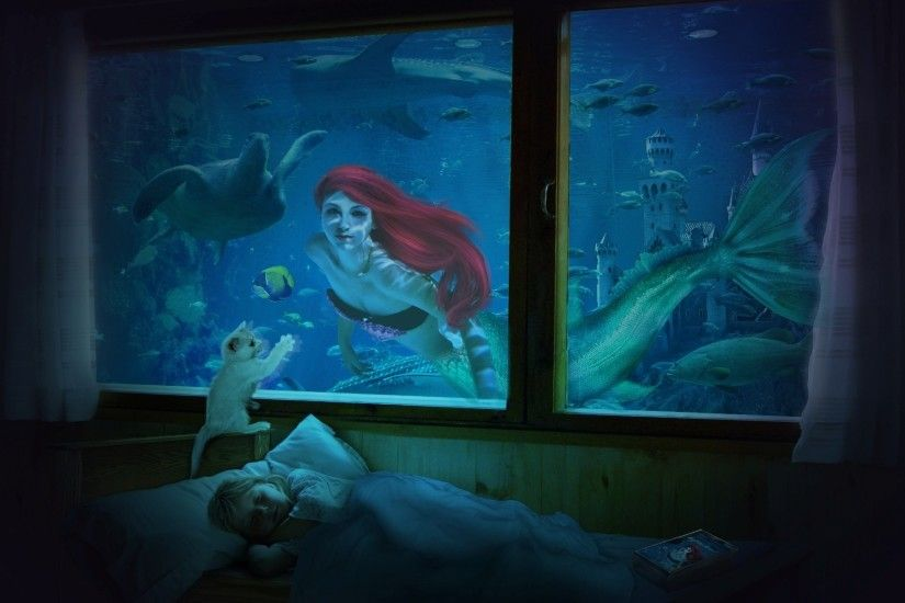 Princess Ariel Wallpaper - WallpaperSafari