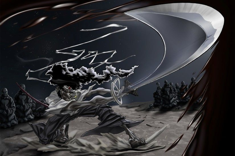 afro samurai wallpaper free hd widescreen by Reeves Sinclair (2017-03-04)