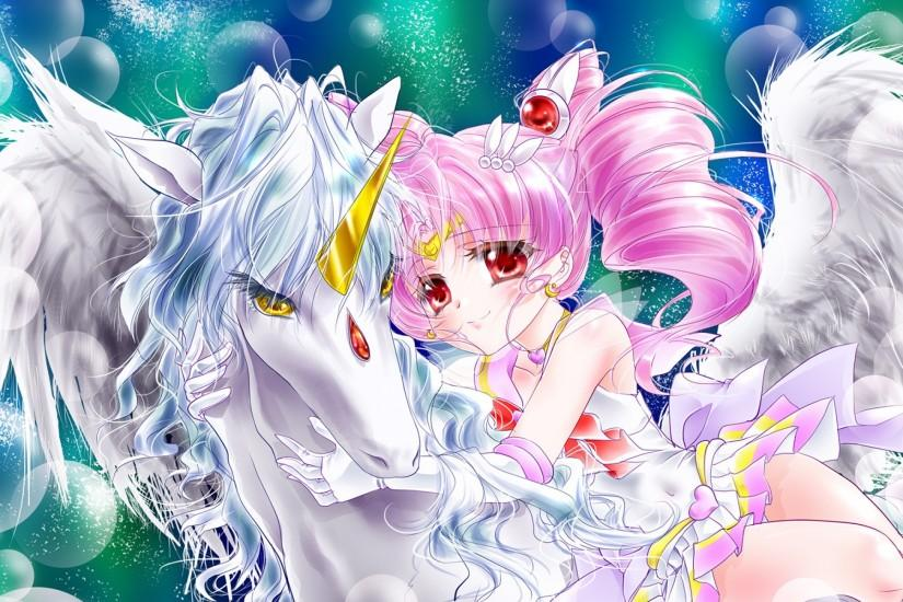 Anime Unicorn - Wallpaper, High Definition, High Quality, Widescreen