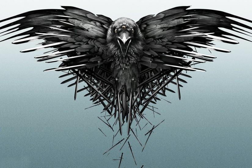 Game Of Thrones, Crow, Sword Wallpaper HD
