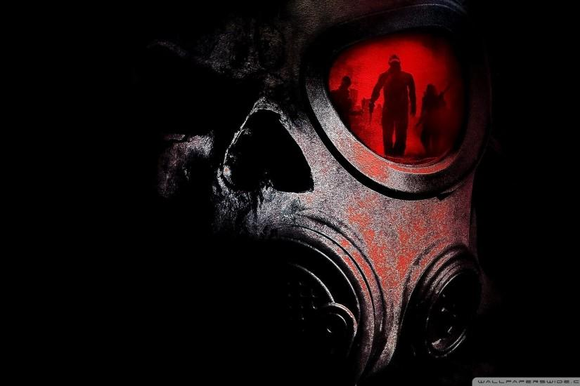 download gas mask wallpaper 1920x1200