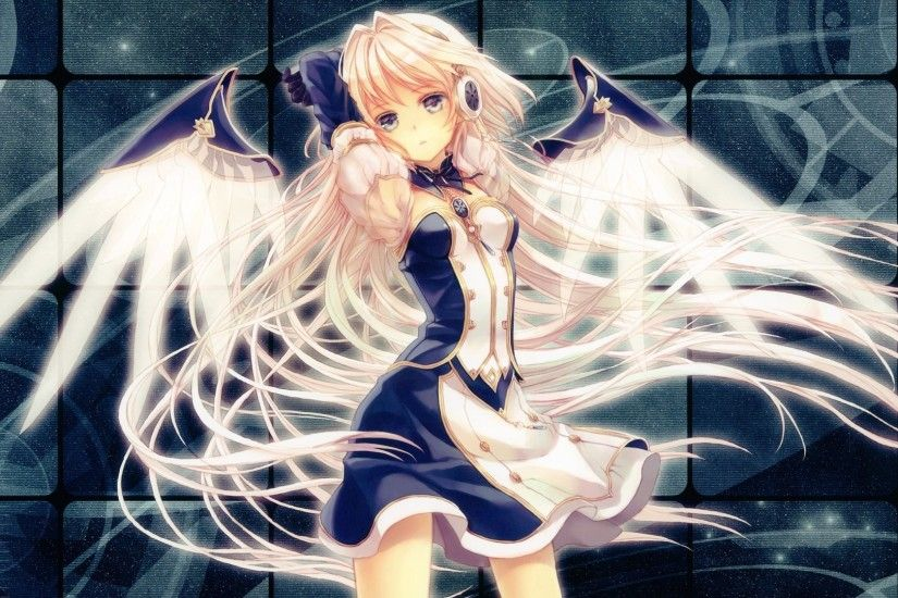 Anime Angel With Blonde Hair