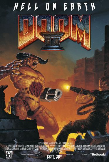 ... Doom II (Movie Poster Version) by imperial96